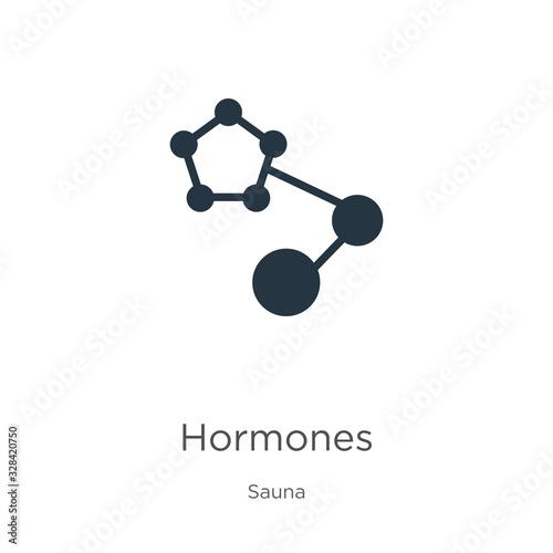 Photo Hormones icon vector