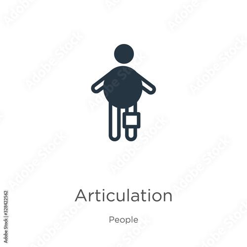 Photo Articulation icon vector