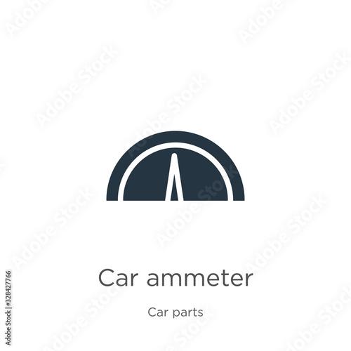 Photo Car ammeter icon vector