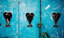 Door Detail, Chefchaouen, Moro...