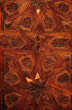 Detailed Ceiling Detail, Fes, Morocco