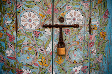 Old Wooden Door Handle, Marrakesh, Morocco