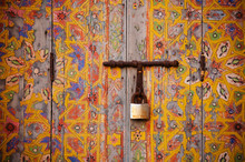 Old Wooden Door Handle, Marrak...