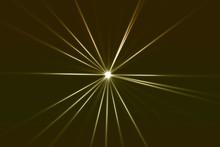 光輝く放射光と放射線...