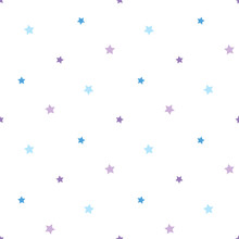 Seamless Pattern In Charmed Bl...