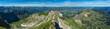 Blick vom Nebelhorn bei Oberstdorf auf die Allgäuer Alpen