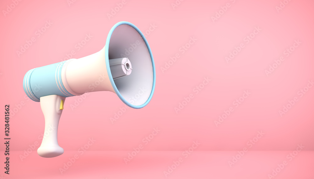Fototapeta megaphone