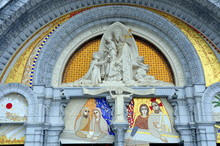 Sanctuary Of The Mother Of God In Lourdes