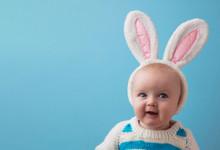 Cute Little Baby Wearing White...