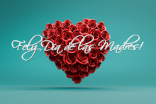 3d Rendering: A Heart Of Red R...