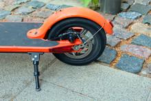 Small Rear Wheel Of Bike