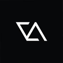 Initial Based Modern And Minimal Logo. VA AV Letter Trendy Fonts Monogram Icon Symbol. Universal Professional Elegant Luxury Alphabet Vector Design