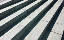 Abstract Granite Stairs