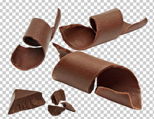 Chocolate Curls, Parts, Pieces...