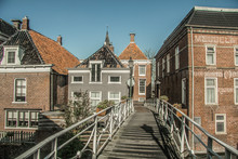 Old Houses In Netherlands