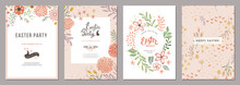 Trendy Floral Easter Templates...