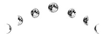 Moon Phases Planets In Solar S...