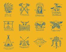 Indian Badges And Native Ameri...
