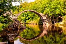 Rakotz Bridge In The Rhododend...