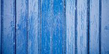 Blue Color Vintage Beach Wood ...