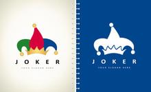 Jester Hat Logo. Joker Costume...