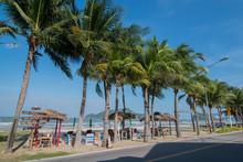 ASIA THAILAND HUA HIN DOLPHIN BAY BEACH