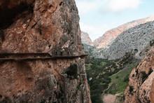 Gefährlicher Weg In Steiler S...