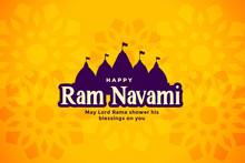 Happy Ram Navami Beautiful Fes...