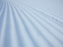 Snow Velvet Close Up On Ski Sl...