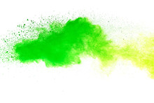 Green And Yellow Powder Explos...