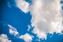 Niebieskie Niebo Z Chmurami,  ...