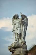 Angel Statue With Sword
