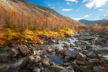 Russian North  Autumn In The M...