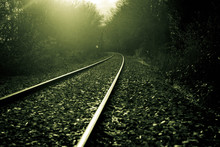 Railway With A Mysterious Atmo...