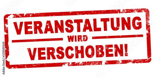 Fotografía nlsb1303 NewLongStampBanner nlsb - german label / banner - deutsch - Stempel - V