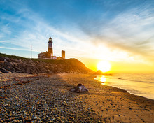 Montauk Lighthouse On Long Isl...