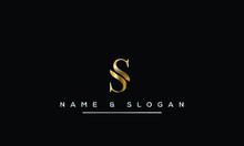 Initial S ,SS  Letter Logo Des...