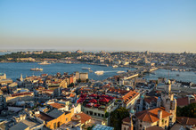 Aerial View Of Fatih Historic ...