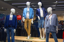 Mannequins In A Clothing Store...