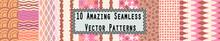 10 Amazing Seamless Vector Pat...