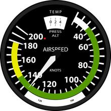 Aviation Speed Indicator Isola...