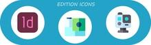 Edition Icon Set