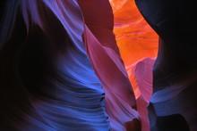 Antelope Canyon Vivid Colors