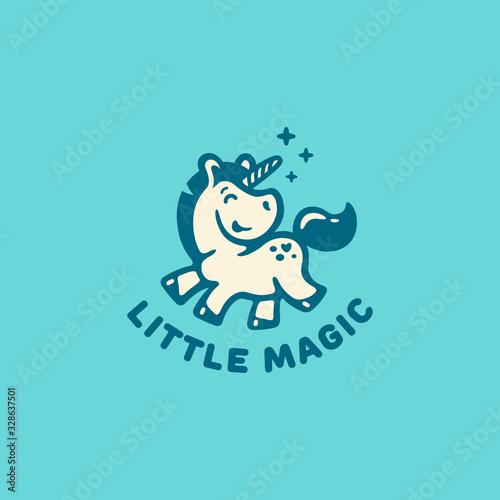 Fotografia Little unicorn logo