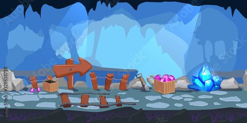 Fotografia Mining Game Level Design Composition