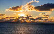 Dramatic Sunset Sky And Seasca...