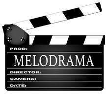 Melodrama Movie Clapperboard