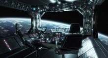 Spaceship Grunge Interior Cont...