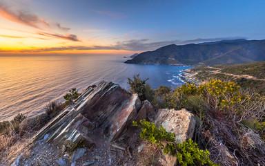 Rock structures Cap Corse