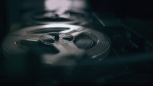 Vintage Tape Recorder Roller. ...